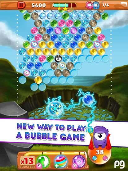 Download Bubble pop: Guriko Android free game.