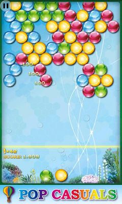 Геймплей Bubble Pop Infinite для Android телефону.