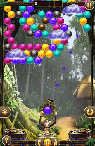 Bubble safari screenshot 1