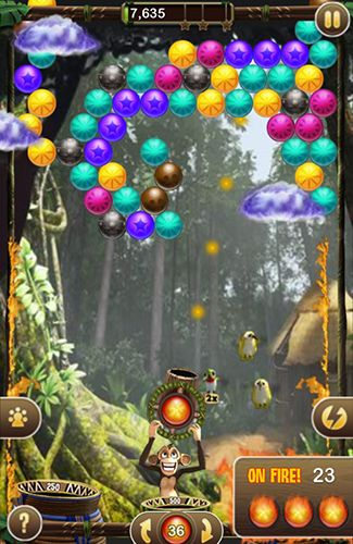 Bubble safari screenshot 2