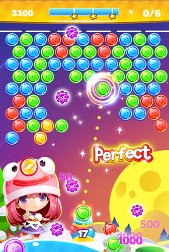 安卓平板、手机Bubble shooter by Fruit casino games截图。