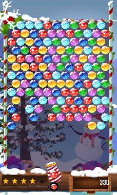 Bubble Shooter Christmas HD screenshot 2