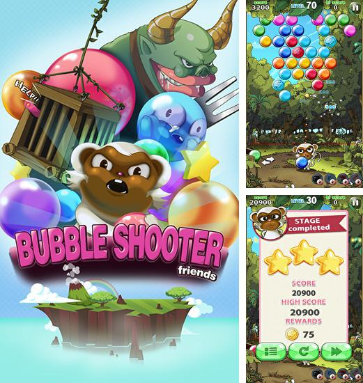In addition to the game Bubble shooter classic for Android phones and tablets, you can also download Bubble shooter: Friends for free.