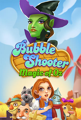 Bubble shooter: Magic of Oz poster