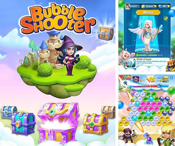 In addition to the game Pet paradise: Bubble shooter for Android phones and tablets, you can also download Bubble shooter online for free.