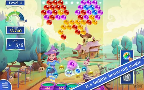 Bubble witch saga 2 screenshot 1