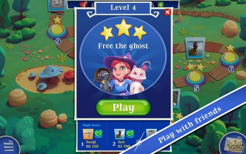 Bubble witch saga 2 screenshot 3