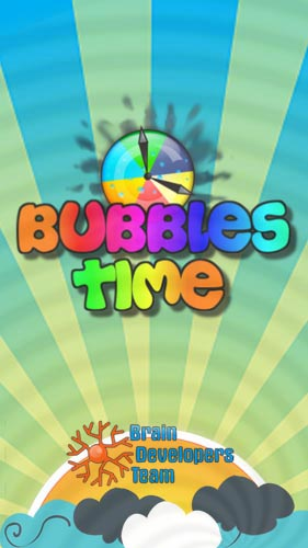 Bubbles time poster