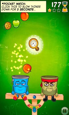 Screenshots of the Bucketz for Android tablet, phone.