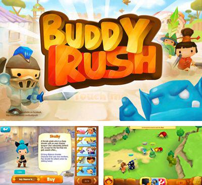 In addition to the game Robo Surf for Android phones and tablets, you can also download Buddy Rush Online for free.