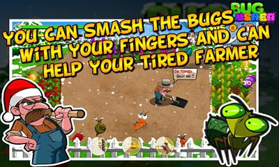 Bug Crusher Winter für Android spielen. Spiel Käfer Knacker: Winter kostenloser Download.