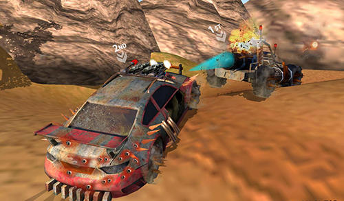 Screenshots do Buggy car race: Death racing - Perigoso para tablet e celular Android.