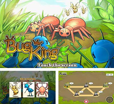 In addition to the game Five Towers for Android phones and tablets, you can also download BugKing for free.