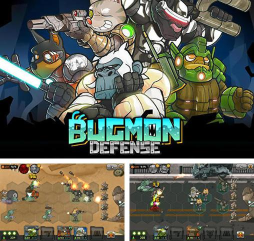 In addition to the game Defen-G Astro POP for Android phones and tablets, you can also download Bugmon defense for free.