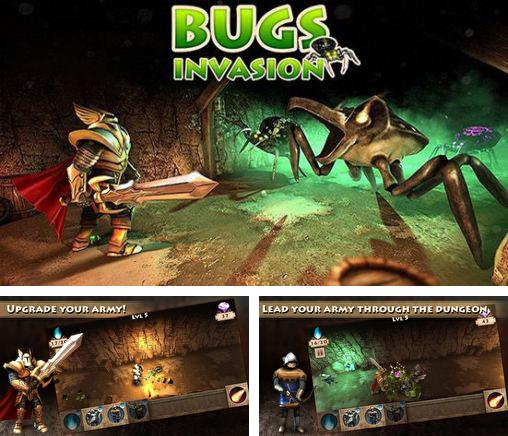 In addition to the game Spartacus vs. zombies for Android phones and tablets, you can also download Bugs invasion 3D for free.