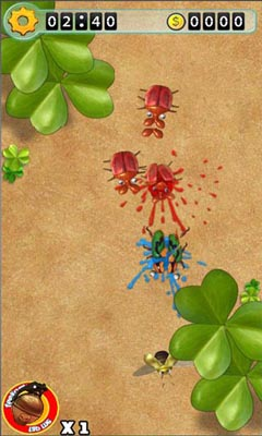 Screenshots von Bugs War für Android-Tablet, Smartphone.