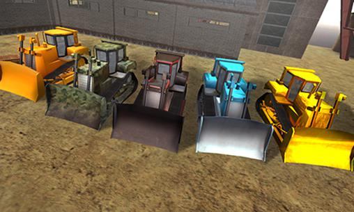 Bulldozer driving 3d: Hill mania картинка из игры 3