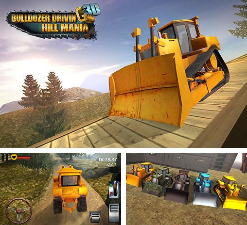 In addition to the game Tractor farming simulator 2017 for Android phones and tablets, you can also download Bulldozer driving 3d: Hill mania for free.