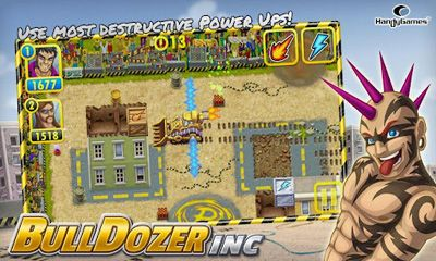Геймплей Bulldozer Inc для Android телефону.