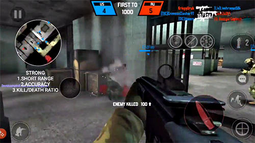 Screenshots von Bullet force für Android-Tablet, Smartphone.