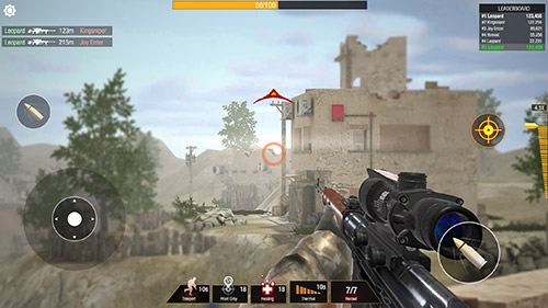 Jogue Bullet strike: Sniper battlegrounds para Android. Jogo Bullet strike: Sniper battlegrounds para download gratuito.