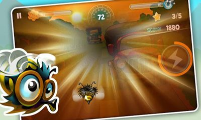 Screenshots von Bumblebee Race für Android-Tablet, Smartphone.