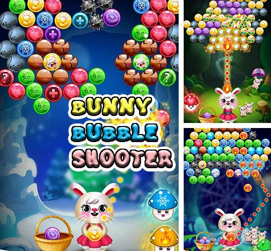 Bunny bubble shooter pop: Magic match 3 island