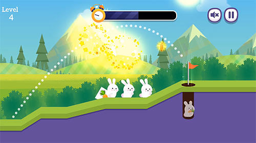 Bunny golf screenshot 1