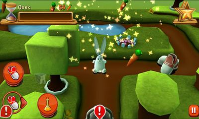 Screenshots von Bunny Maze 3D für Android-Tablet, Smartphone.
