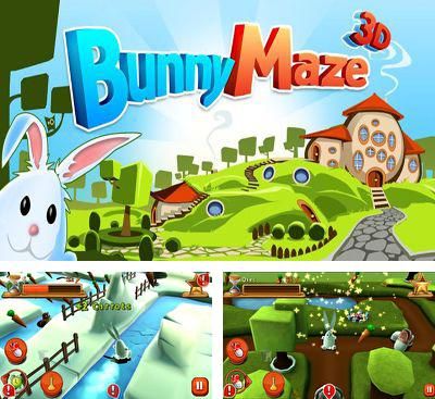 In addition to the game Cranky Cat's Bubble Pop! for Android phones and tablets, you can also download Bunny Maze 3D for free.