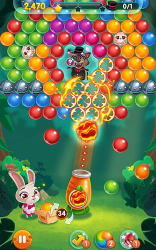 Download Bunny pop Android free game.