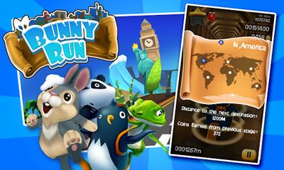 Screenshots von Bunny Run für Android-Tablet, Smartphone.