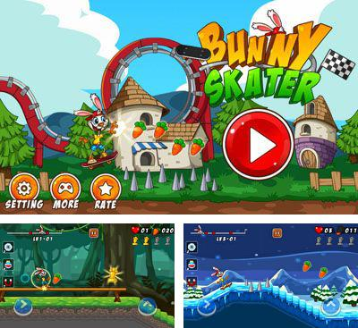 In addition to the game Daring Raccoon HD for Android phones and tablets, you can also download Bunny Skater for free.