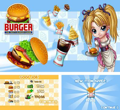 In addition to the game Pizza Picasso for Android phones and tablets, you can also download Burger for free.