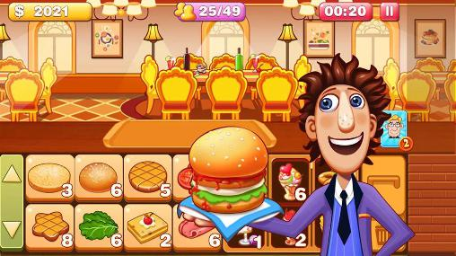 Screenshots von Burger tycoon 2 für Android-Tablet, Smartphone.