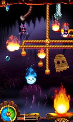 Геймплей Burn it All для Android телефону.