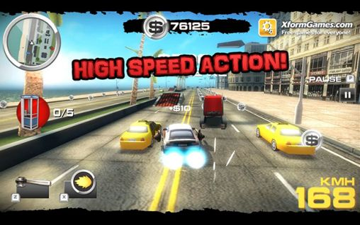 Metal racer screenshot 1