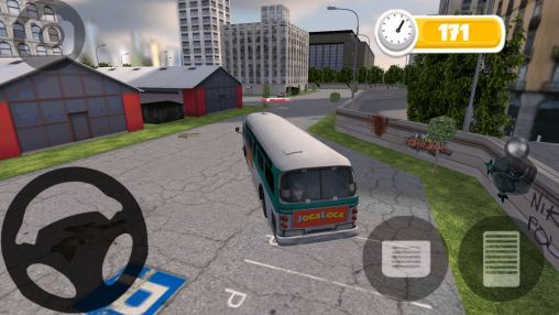 Bus parking HD screenshot 1