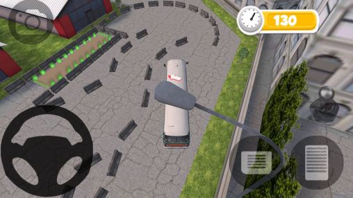 Bus parking HD screenshot 2
