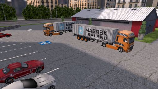 Bus parking HD screenshot 4