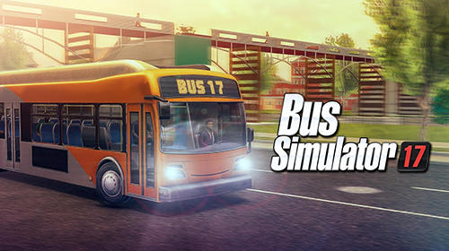 Bus simulator 17 poster