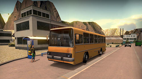 Геймплей Bus simulator 17 для Android телефону.