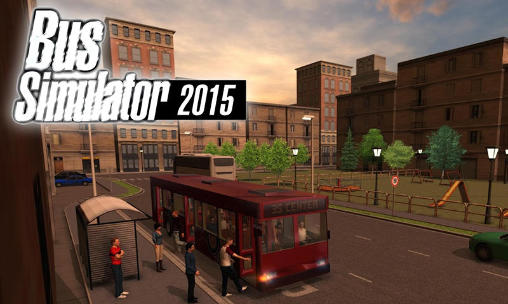 Bus simulator 2015 poster