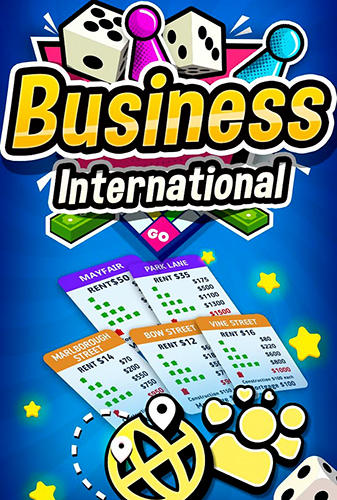 Business international poster