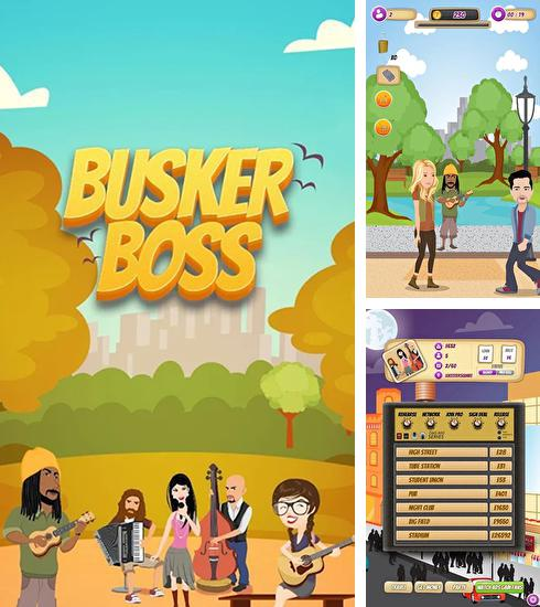Busker boss: Music RPG game