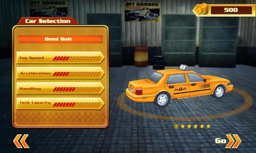 Cab in the city screenshot 1