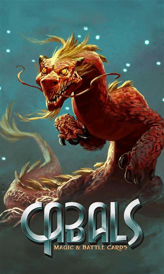 Cabals: Magic and battle cards poster
