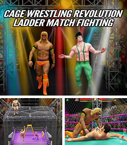 In addition to the game WWE mayhem for Android phones and tablets, you can also download Cage wrestling revolution: Ladder match fighting for free.