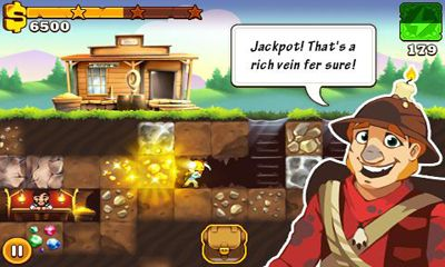 Screenshots von California Gold Rush! für Android-Tablet, Smartphone.