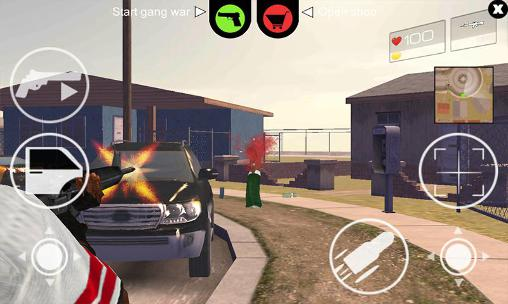 Screenshots do California straight 2 Compton - Perigoso para tablet e celular Android.